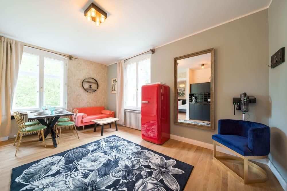 Basic-Apartment - Wohnbereich