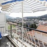 Δίκλινο Δωμάτιο (Double) (Double Room with Balcony and Sea View) - Μπαλκόνι