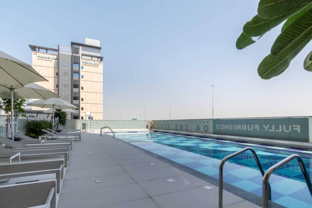 Apartmán typu Basic, 1 extra veľké dvojlôžko - Bazén