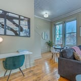 Departamento familiar, 2 habitaciones, para no fumadores, cocina - Sala de estar