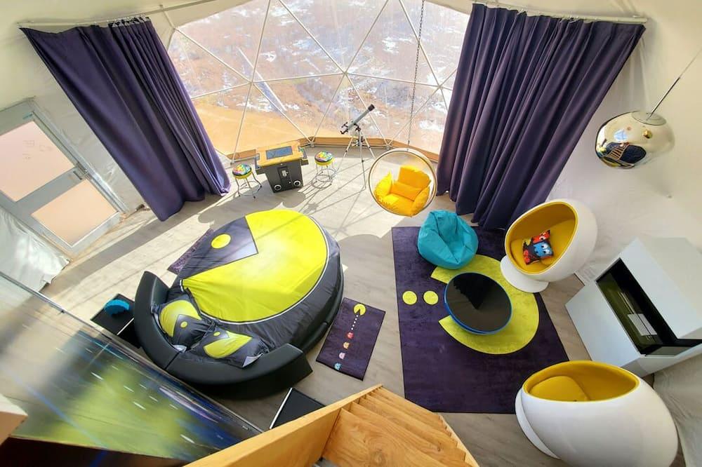 Exclusive-huone - Oleskelualue