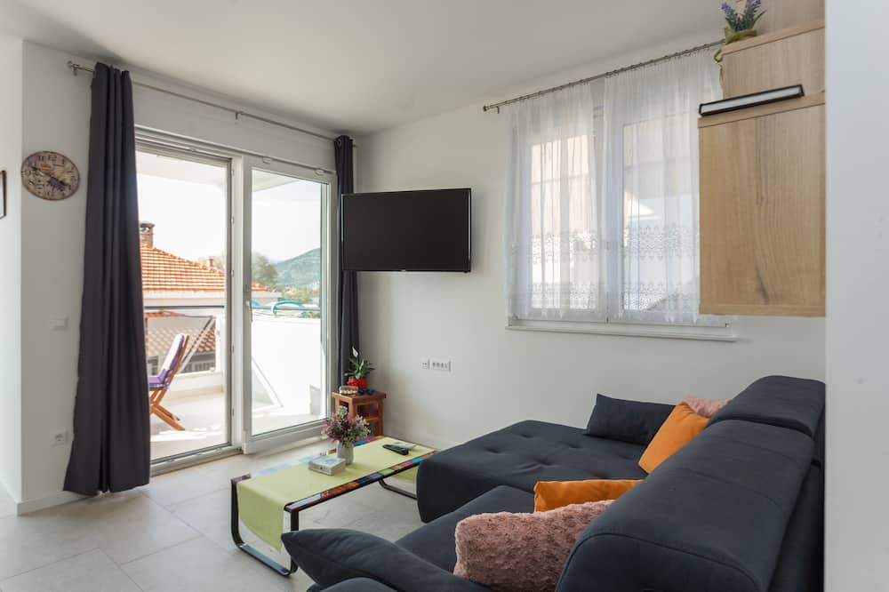 Luxury Double Room - Ruang Tamu