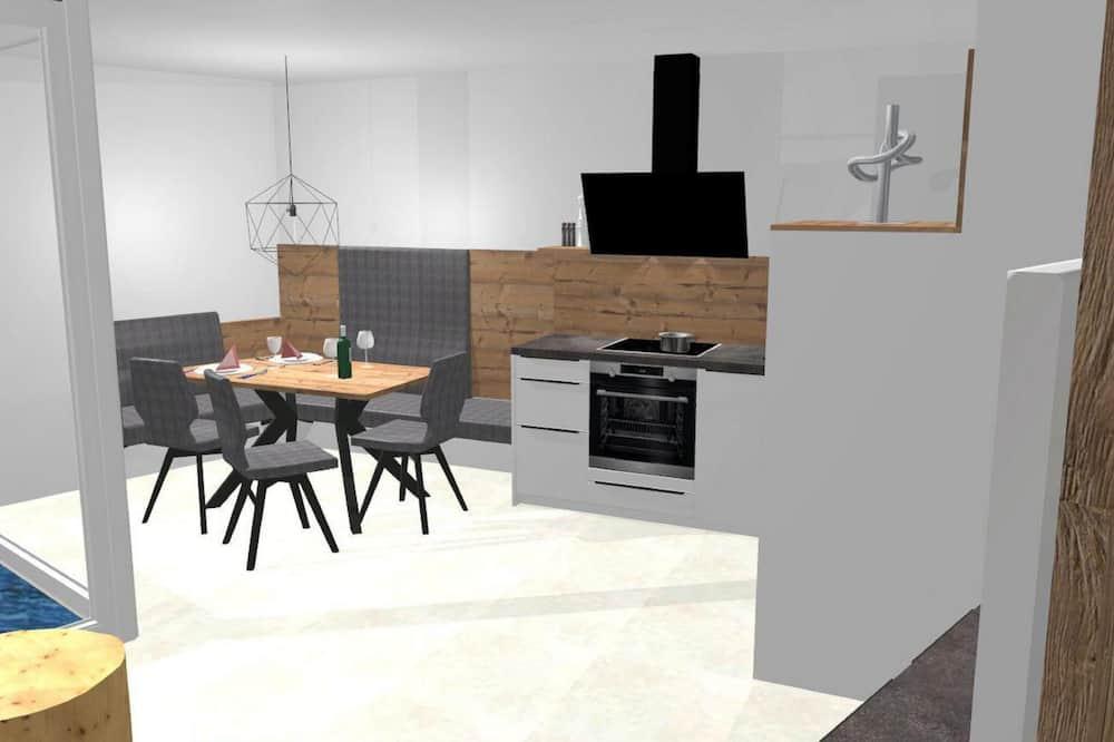 Appartement (3 Bedrooms) - Eetruimte in kamer