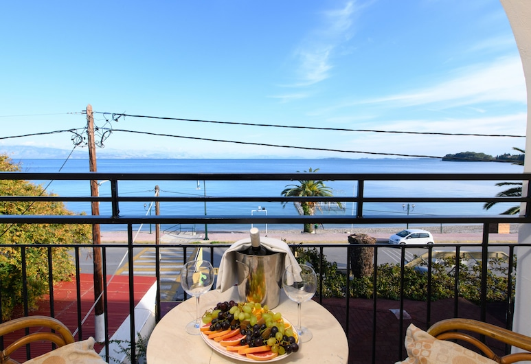 Ipsos Di Mare Hotel, Корфу, Двухместный номер «Премьер» с 1 или 2 кроватями, 1 спальня, Номер