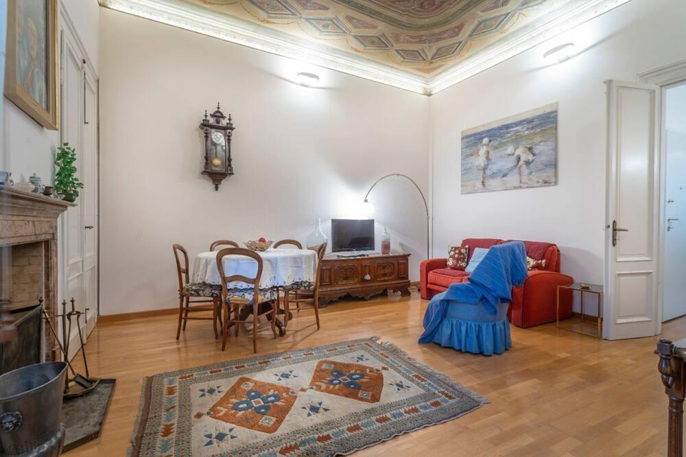 Apartamento, 2 Quartos - Sala de Estar