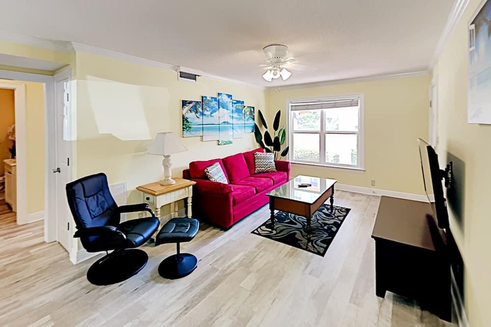 Dvoupodlažní apartmá, 4 ložnice - Obývací pokoj