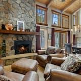 Vila, 5 ložnic - Obývací pokoj