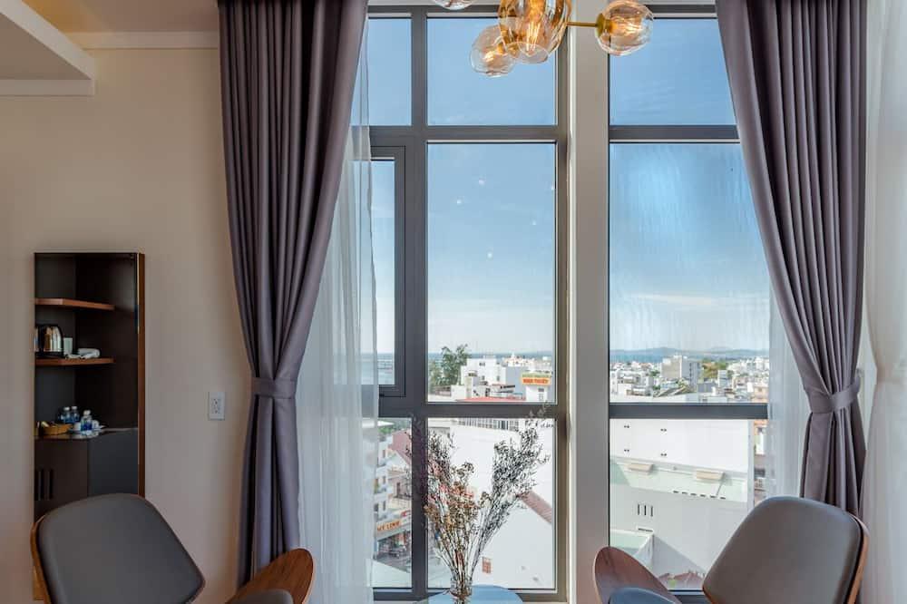 Executive Double Room, Sea View - Living Area
