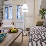 Apartmán, 1 ložnice, kuchyně - Obývací prostor