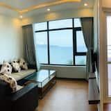 דירת יוקרה, 2 חדרי שינה, נוף לים - אזור מגורים