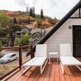 Casa, Varias camas (Corduroy - Cute Mountainside Cottage ) - Balcón
