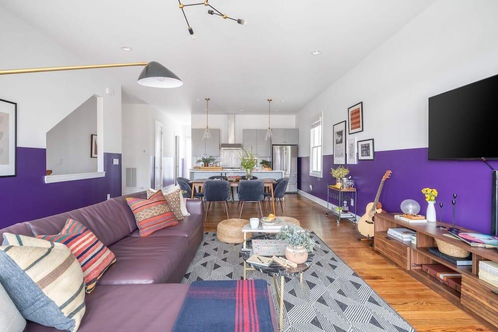 Maison, plusieurs lits (Monroe Unit 14 - Contemporary 4BR Con) - Salle de séjour