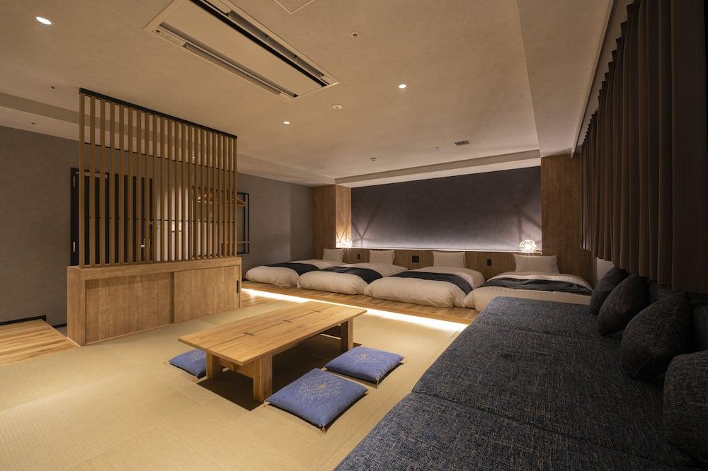 חדר קלאסי, ללא עישון (Japanese style -HIDA-) - חדר אורחים