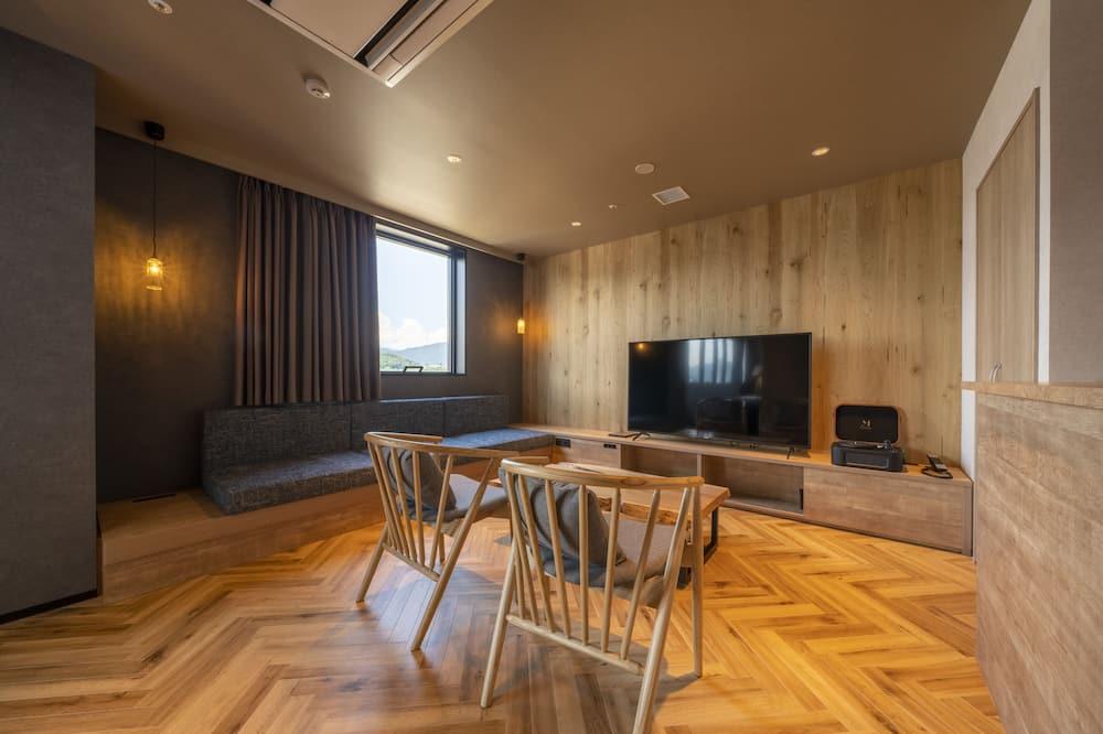 חדר ג'וניור, ללא עישון (The around Suite) - אזור מגורים