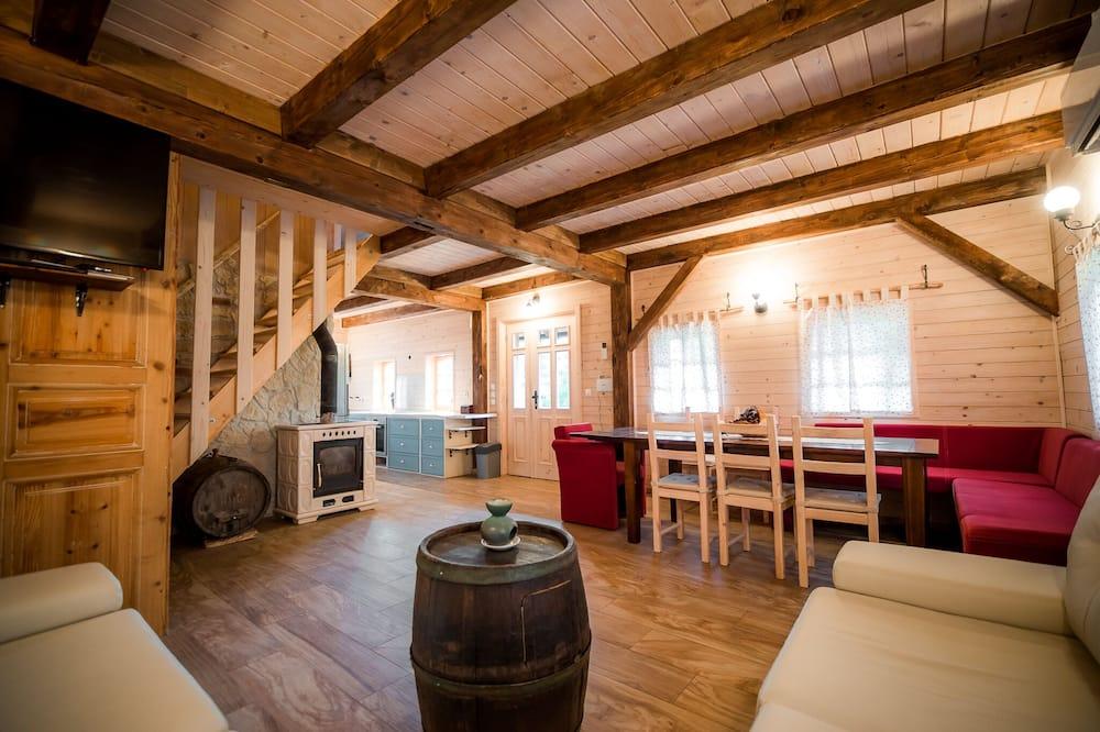 Casa Familiar (Two bedroom holiday home) - Sala de Estar