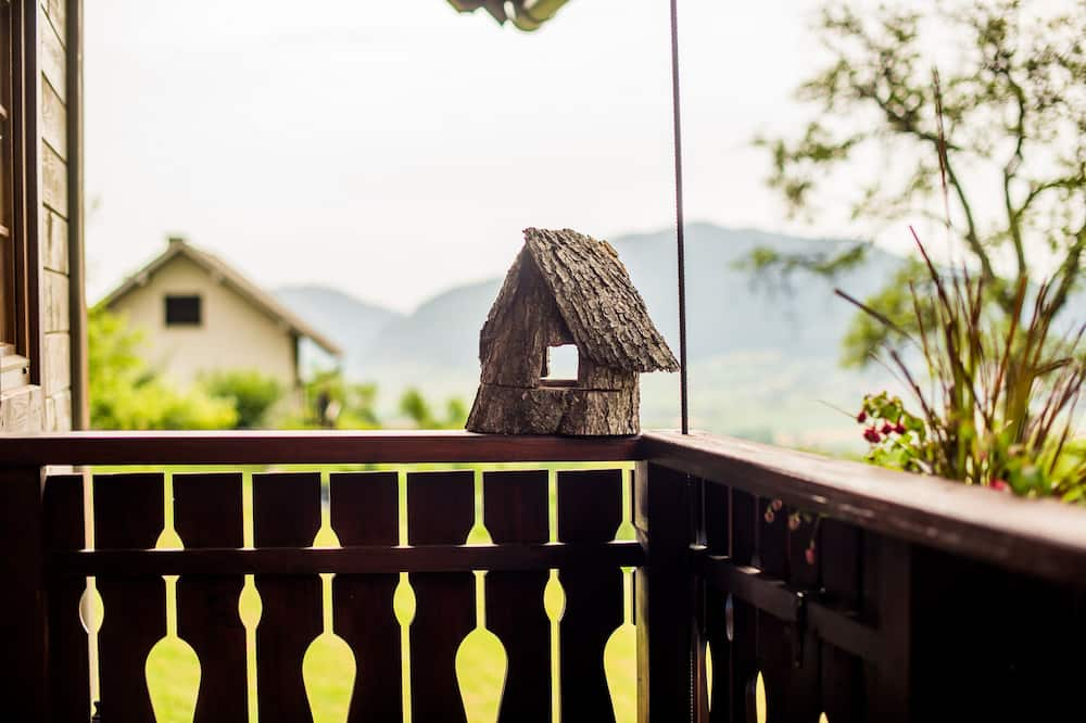 Casa Familiar (Two bedroom holiday home) - Varanda