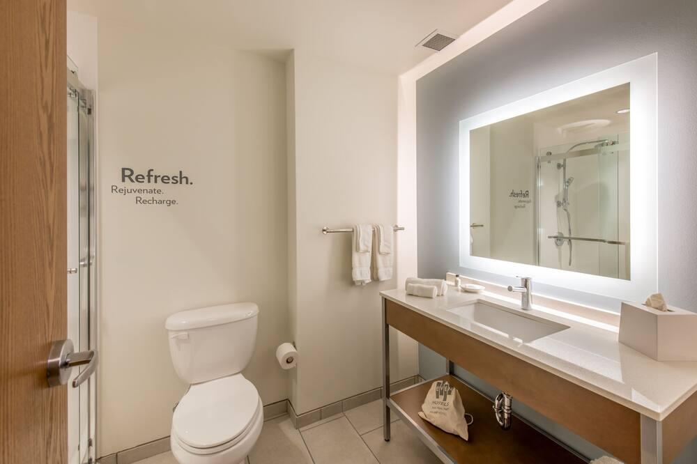 Izba, 1 extra veľké dvojlôžko, nefajčiarska izba (High Floor) - Kúpeľňa