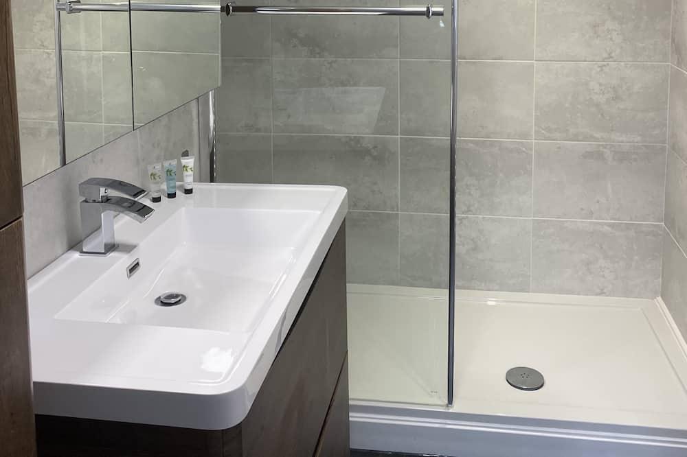 Apartmán, vlastná kúpeľňa (Apt 2) - Kúpeľňa
