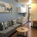 Deluxe suite, 1 slaapkamer, Balkon - Woonruimte