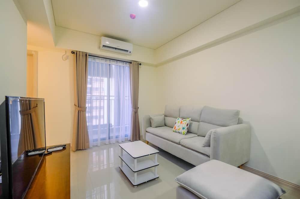 Apartment, Non Smoking, Kitchenette - Living Room