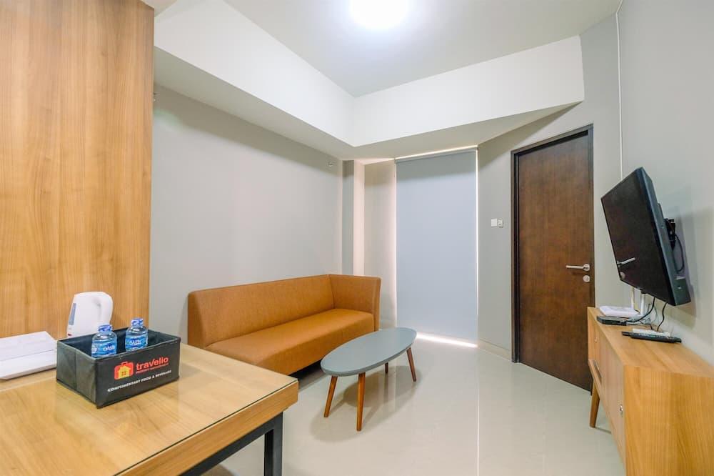 Lejlighed - ikke-ryger - tekøkken - Stue