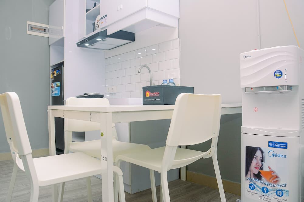 อพาร์ทเมนท์, ปลอดบุหรี่, ห้องครัวขนาดเล็ก - พื้นที่นั่งเล่น