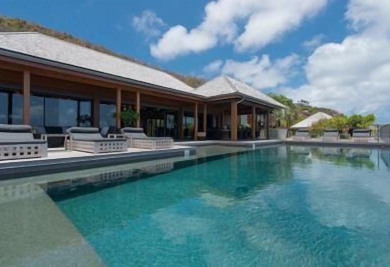 Beautiful Ocean Views 8Br Pool Villa, Marigot