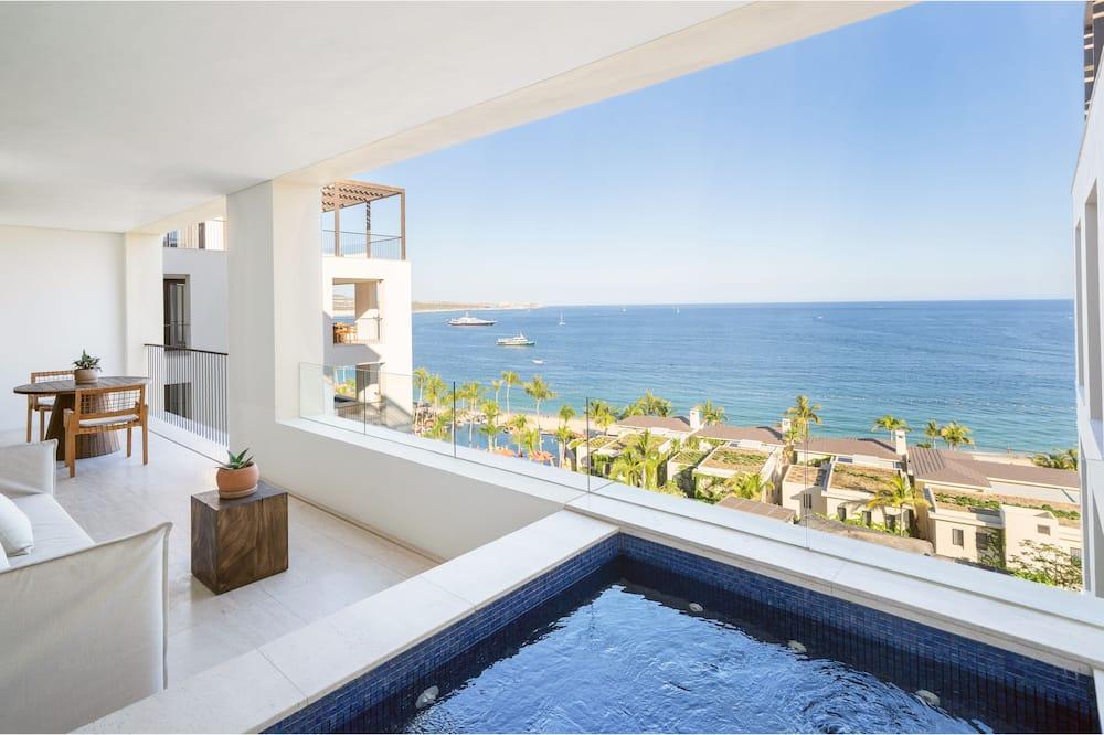 One Bedroom Ocean View Home - Balcon