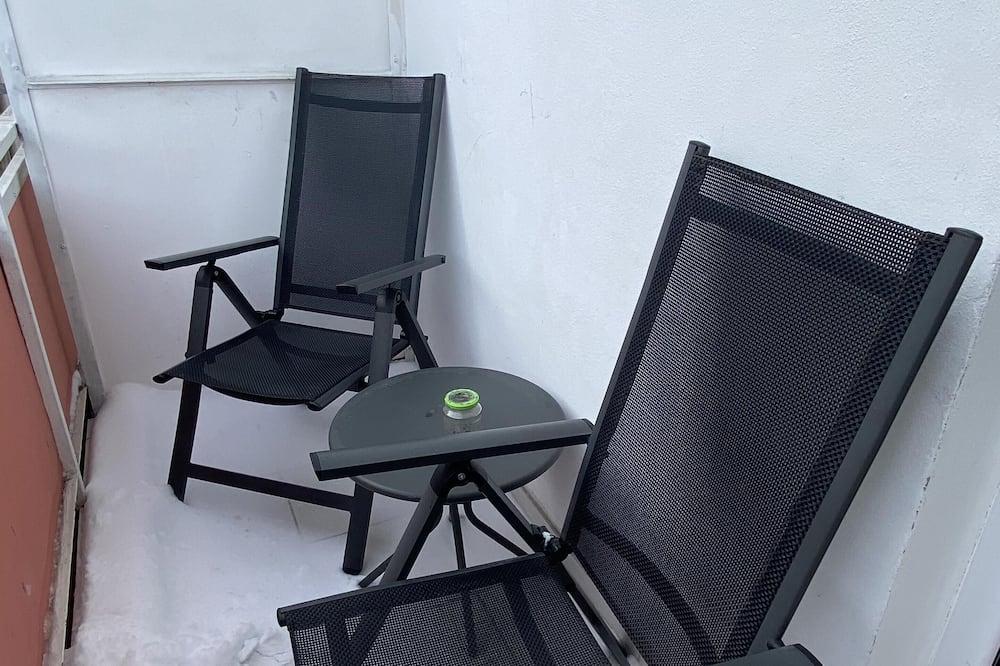 Двухместный номер «Делюкс» с 1 двуспальной кроватью, отдельная ванная комната - Вид с балкона