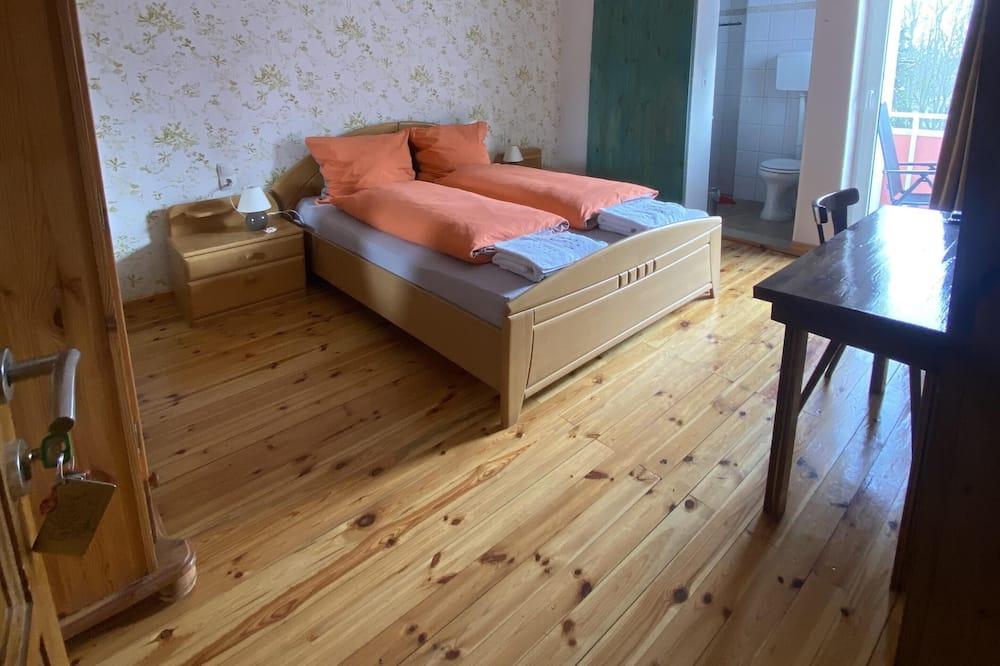 Двухместный номер «Делюкс» с 1 двуспальной кроватью, отдельная ванная комната - Номер