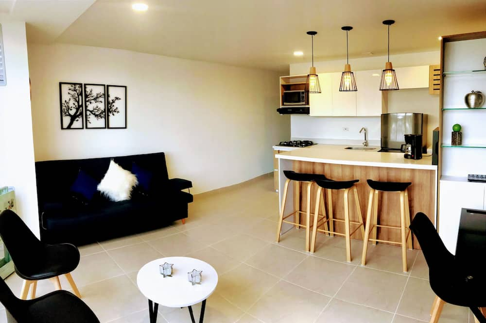 Panoramic Apartment - Living Room