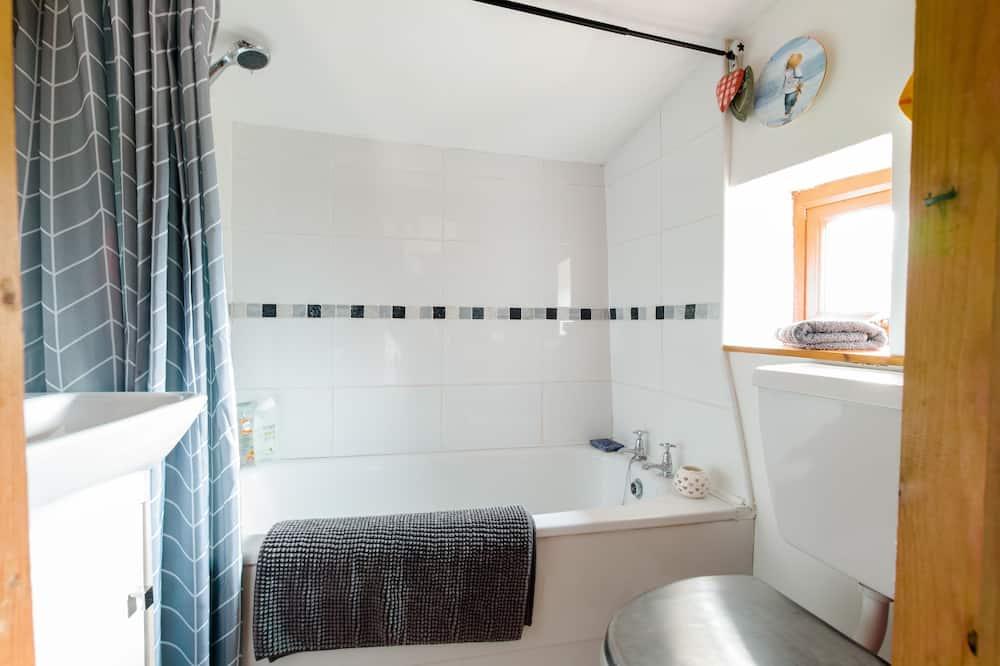 Traditionele cottage, privébadkamer, uitzicht op bergen - Badkamer