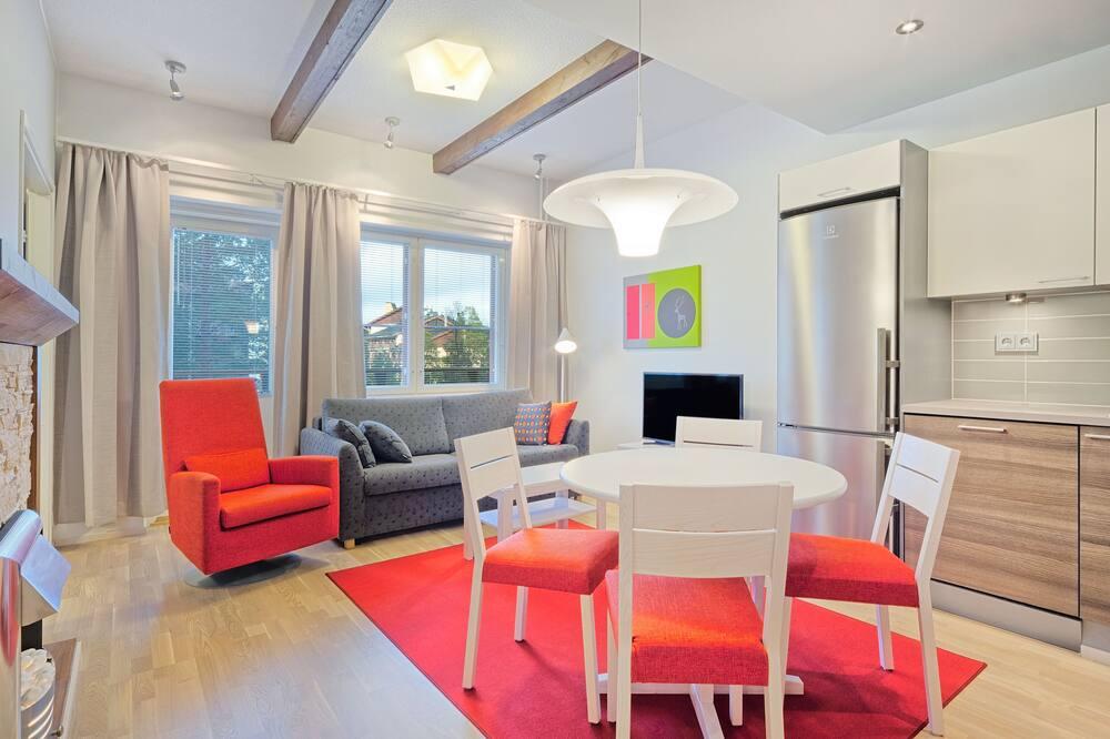 Apartment, 1 Bedroom (51m2) - Living Room