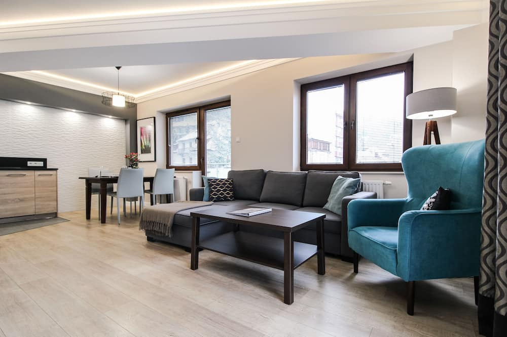 Premium-Apartment - Wohnbereich