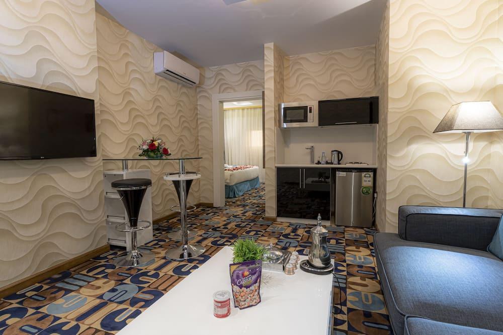 Suite, 1 chambre, chambres communicantes - Coin séjour