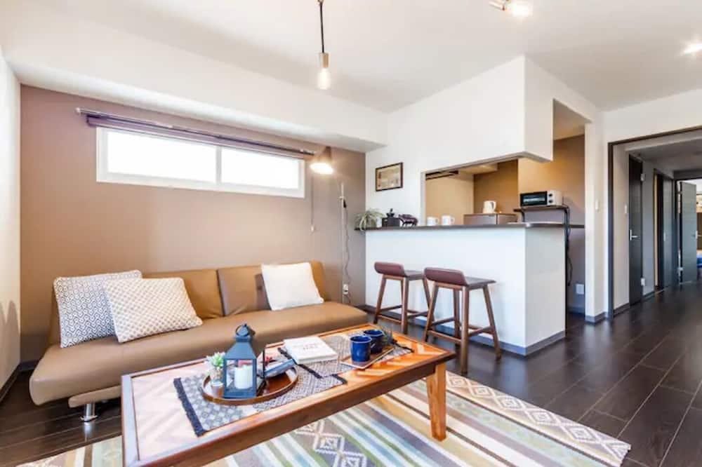 Апартаменты, для некурящих - Зона гостиной