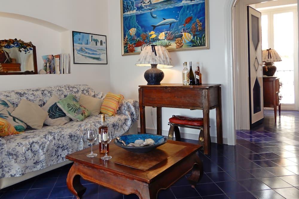 Apartmán s panoramatickým výhľadom - Obývacie priestory