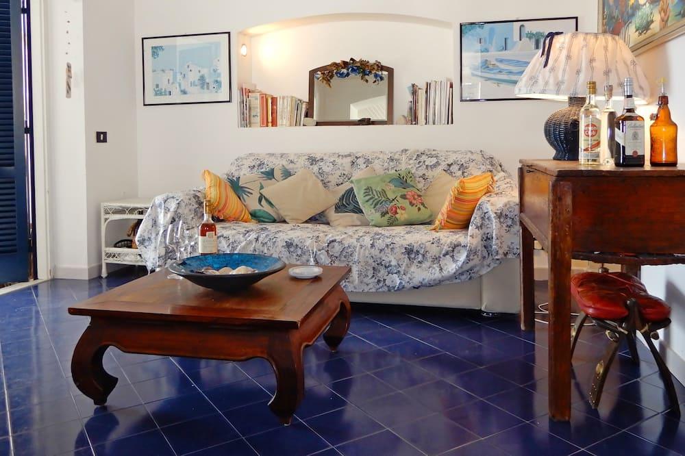 Apartmán s panoramatickým výhľadom - Obývačka
