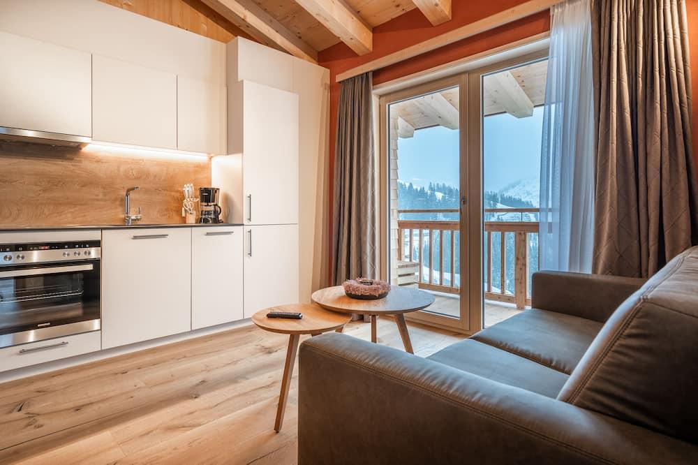 Căn hộ Superior (incl. EUR 50 cleaning fee) - Khu phòng khách