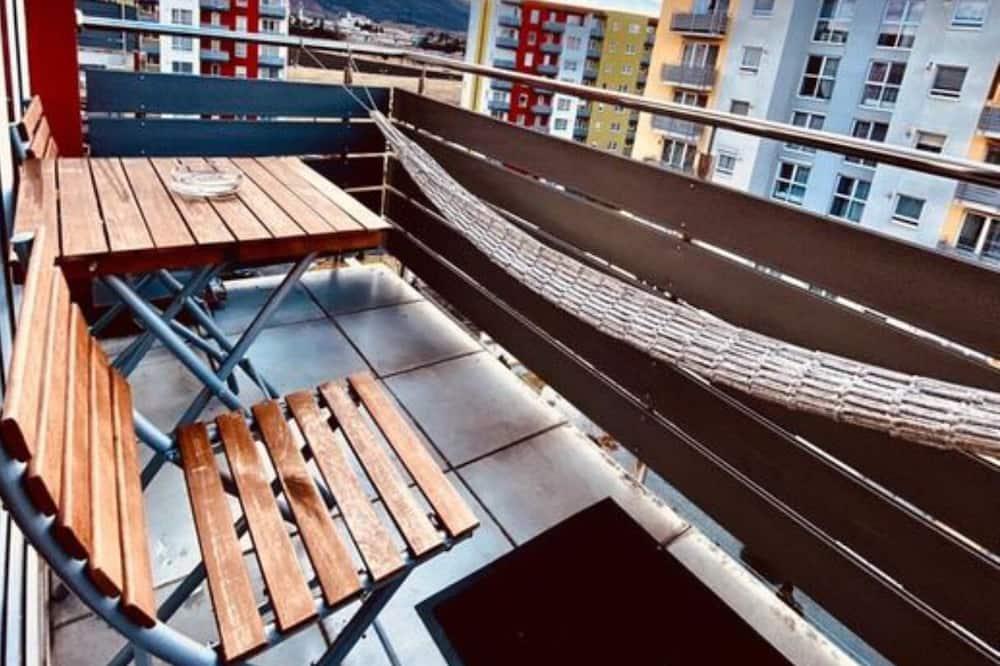 Apartment, 1Queen-Bett und Schlafsofa - Balkon
