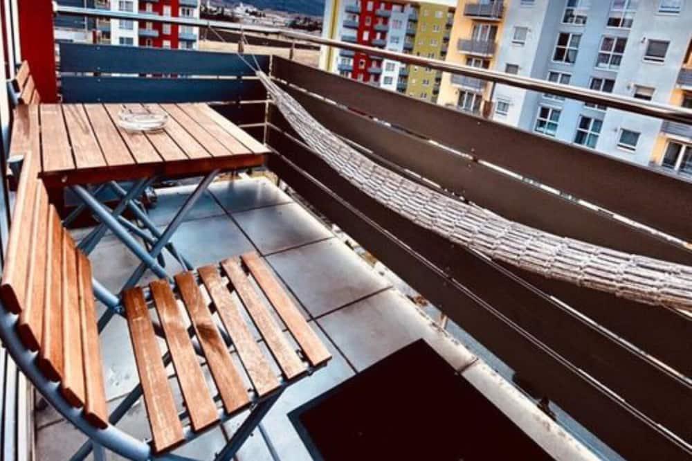 Departamento, 1 cama Queen size con sofá cama - Balcón