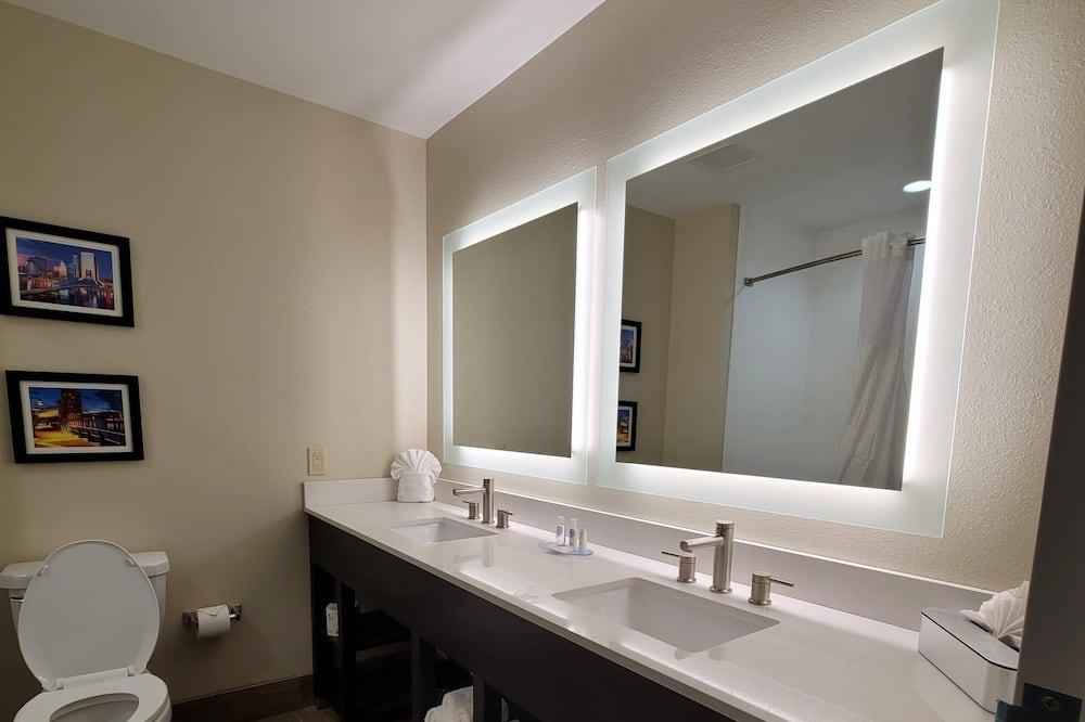 Deluxe Studio Suite, 1 Katil Raja (King) dengan Katil Sofa, Accessible, Non Smoking - Bilik mandi