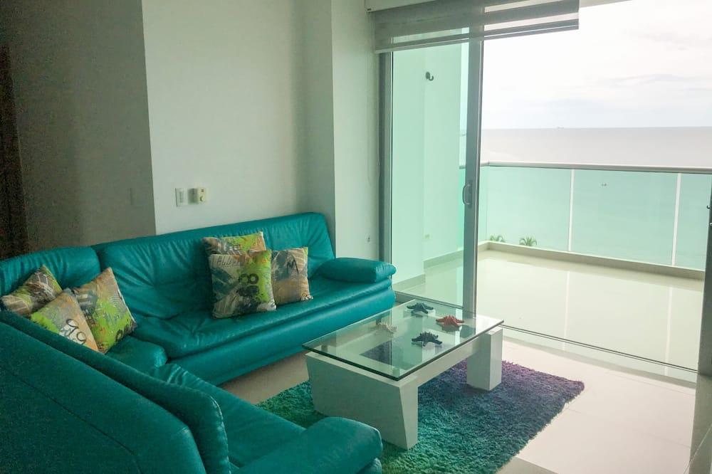Appartement Panoramique - Salle de séjour