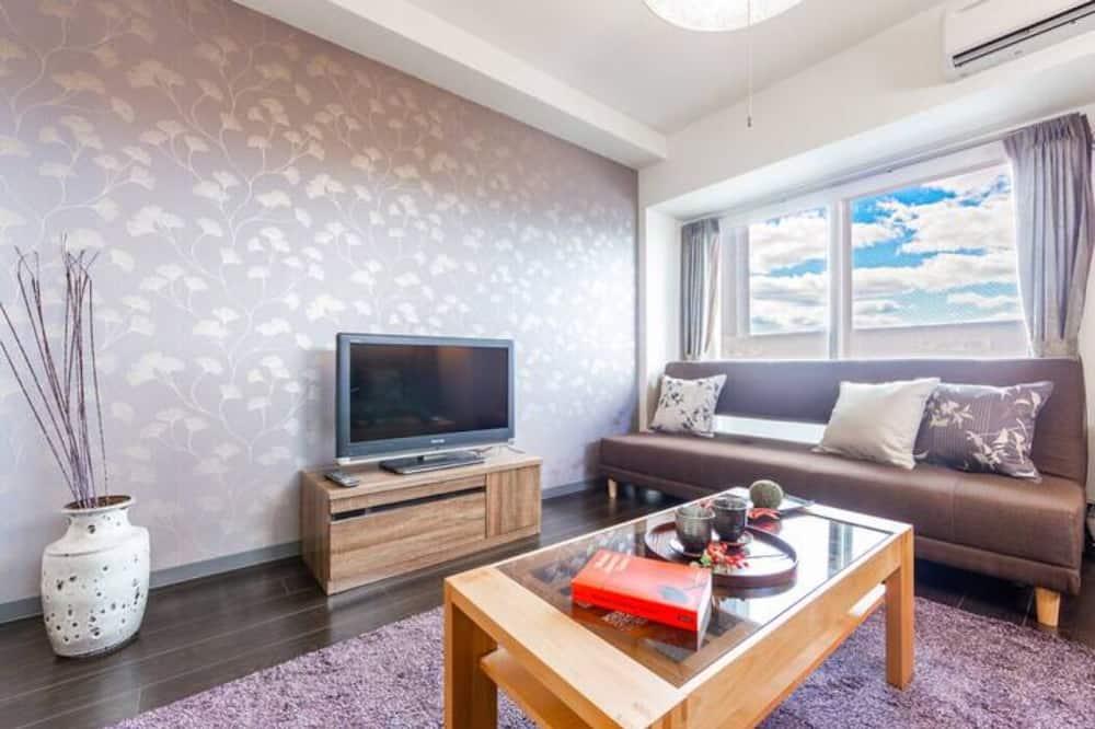 아파트, 금연 - 거실 공간