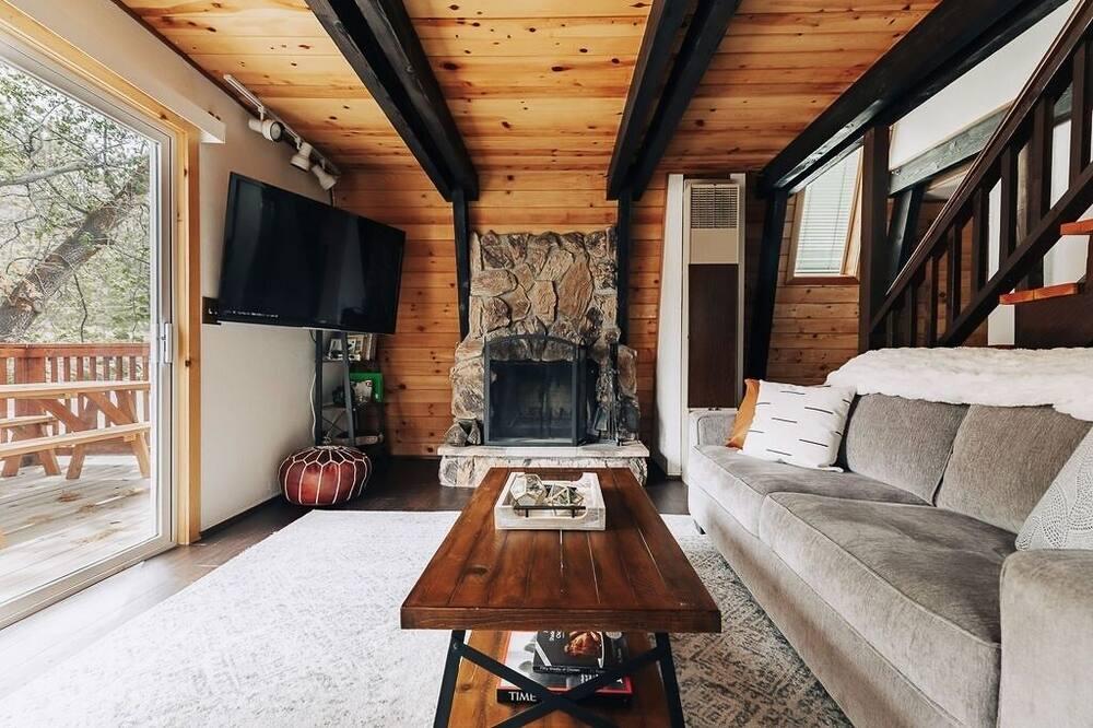 Stuga - 2 sovrum - Vardagsrum