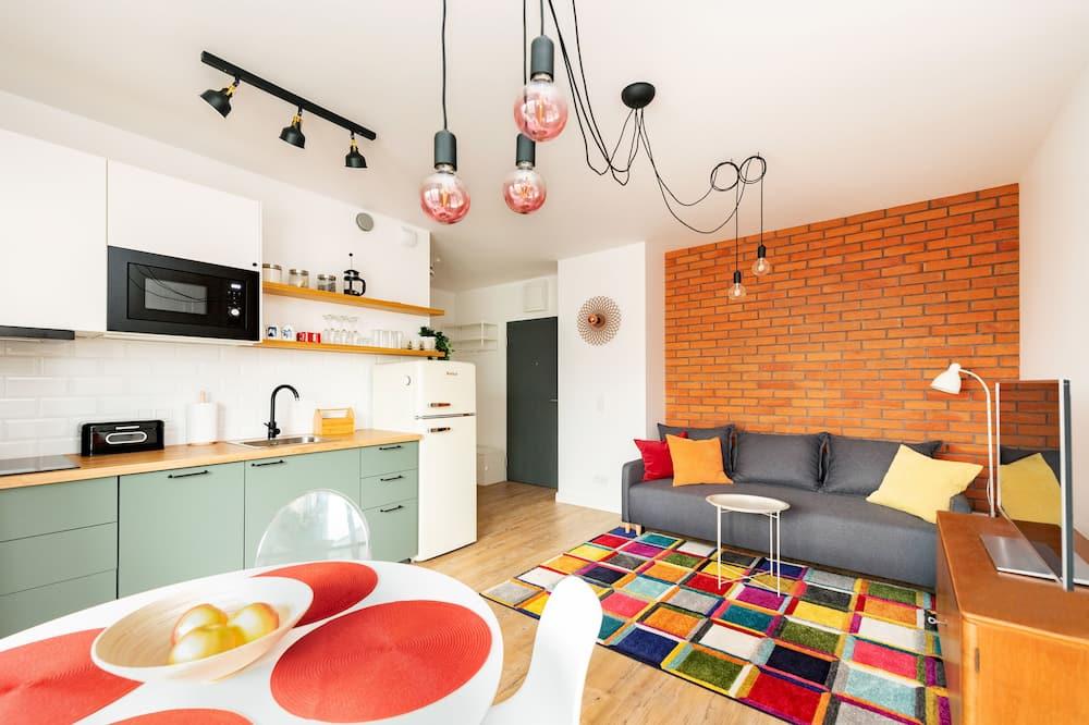 Departamento, Varias camas - Sala de estar