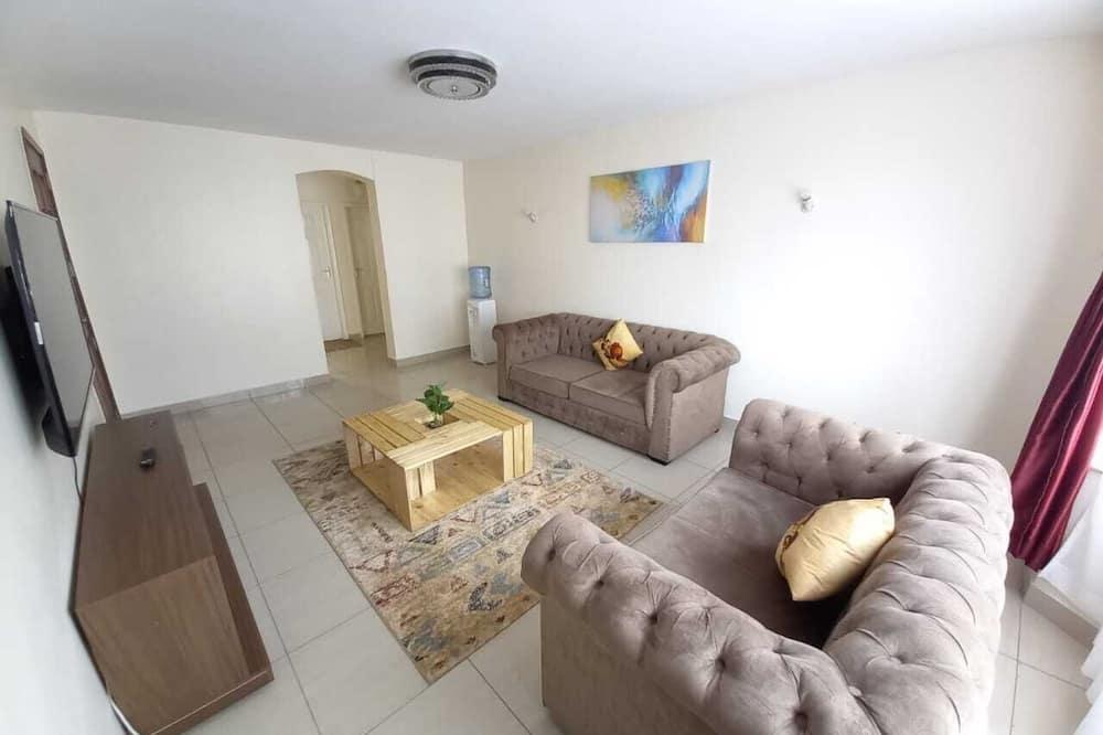 Deluxe Apartment, 2 Bedrooms - Ruang Tamu