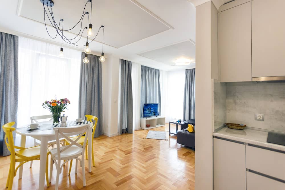 Apartmán typu Deluxe - Stravování na pokoji