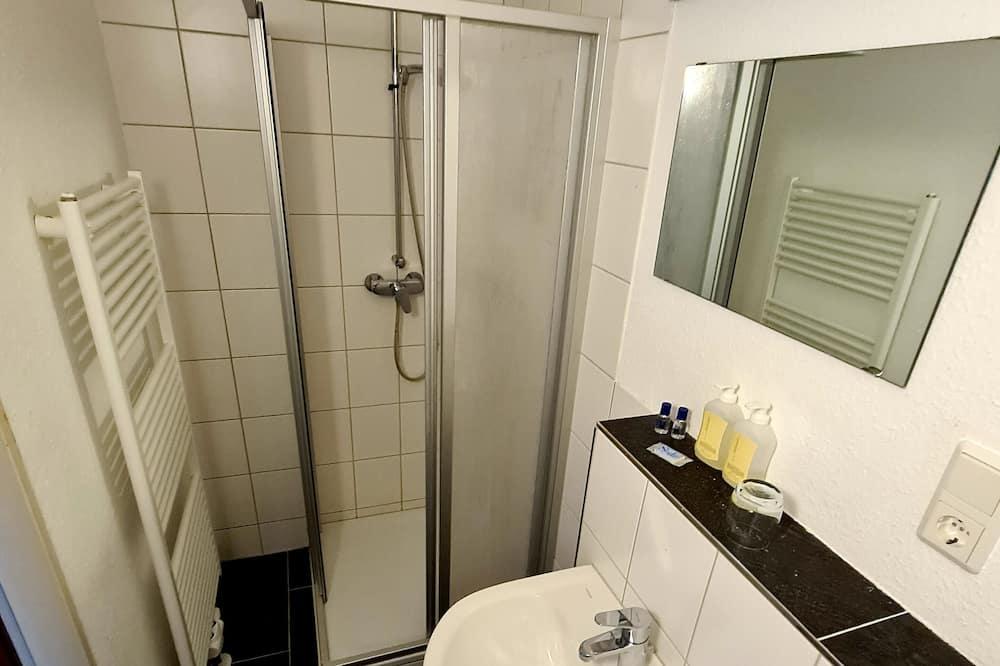 Apartment zur Inselseite - חדר רחצה