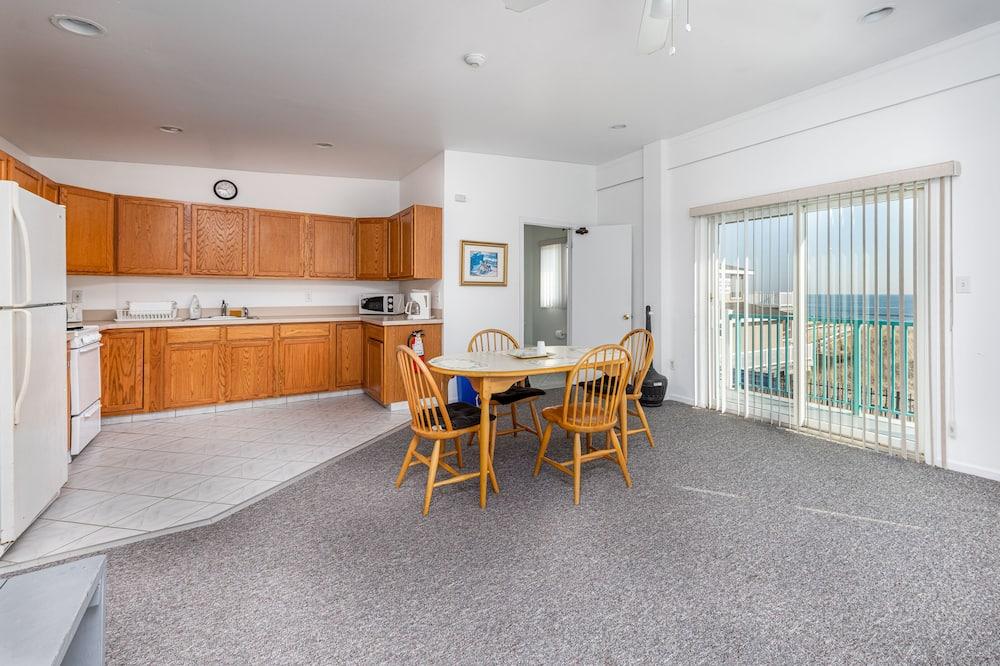 Augstākās klases dzīvokļnumurs, vairākas gultas, iekšējais pagalms, skats uz okeānu - Dzīvojamā zona